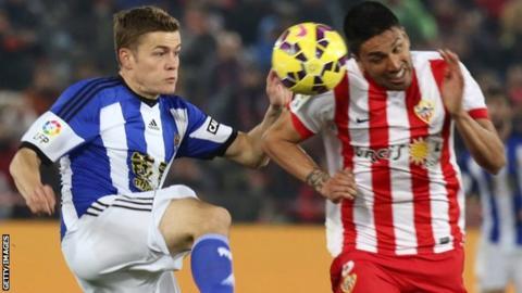 Almeria v Real Sociedad