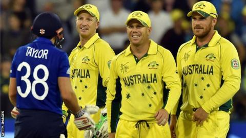 James Taylor & Australia players