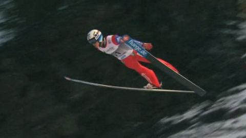 Norway's Anders Fannemel breaks ski jump world record
