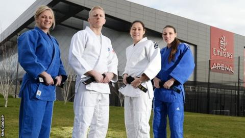 The Emirates Arena was chosen to host the European Judo Championships back in June 2013