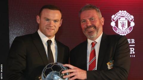 Wayne Rooney and Brian McClair