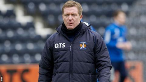 Kilmarnock interim manager Gary Locke