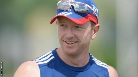 Former England captain Paul Collingwood