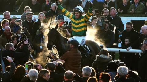 AP McCoy and Carlingford Lough