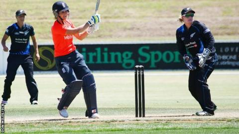 England batter Charlotte Edwards