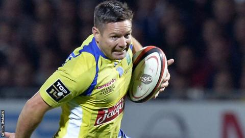 Mike Delany of Clermont Auvergne.
