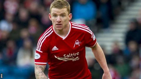 Jonny Hayes has scored four times for Aberdeen this season