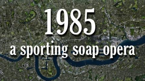 How sport looked when EastEnders was born in 1985