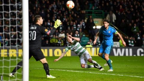 John Guidetti watches his first goal since November hit the top corner
