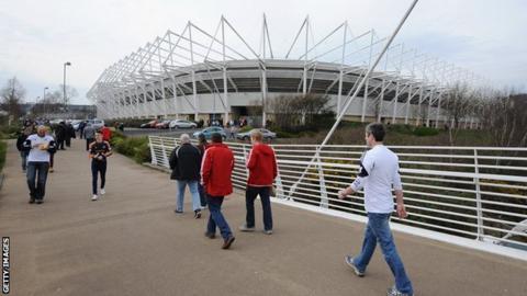 Liberty Stadium in Swansea