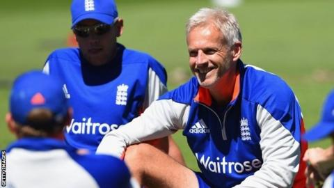 Peter Moores, England