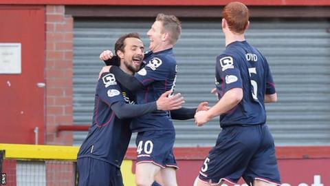 Ross County celebrate