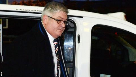 Rangers finance director Barry Leach