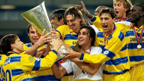 d65a55900 Parma s uncertain future  Former Uefa Cup winners rack up debts ...