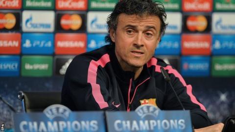 Luis Enrique of Barcelona