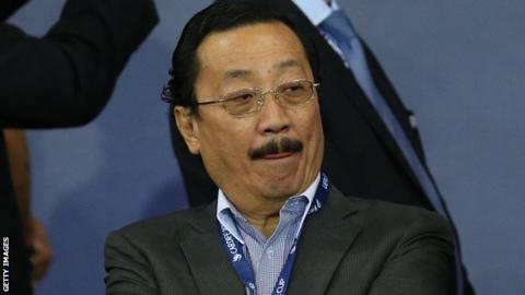 Cardiff chairman Vincent Tan