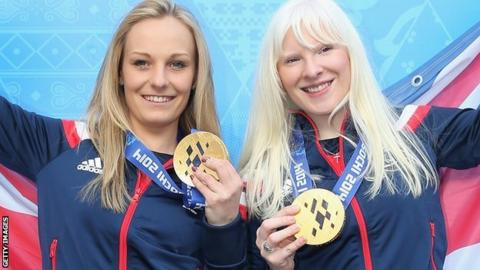 Charlotte Evans and Kelly Gallagher