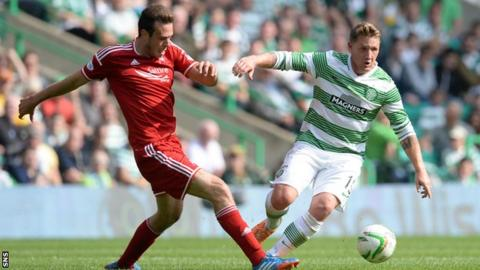 Andy Considine and Kris Commons