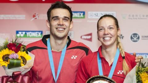 Chris and Gabby Adcock