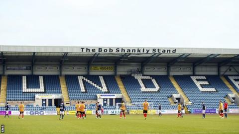 Dundee's Dens Park stadium