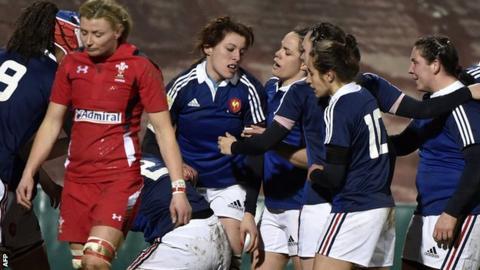 Wales women v France