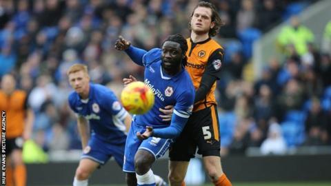 Kenwyne Jones in action against Wolves