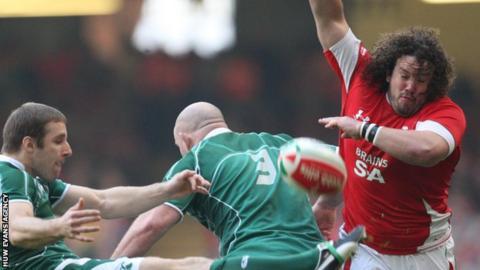 Tight-head prop Adam Jones won 95 caps for Wales