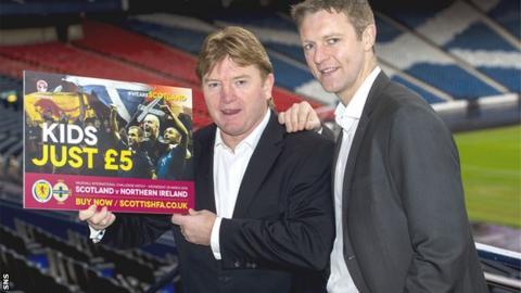 Stuart McCall and Stephen Craigan