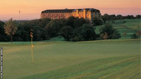 The Celtic Manor Resort in Newport hosted the 2010 Ryder Cup