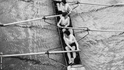 Women's Boat Race in the 1930s