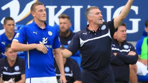 Chris Wood and Nigel Pearson