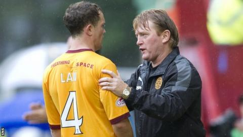 Nicky Law (left) played under Stuart McCall at Motherwell.