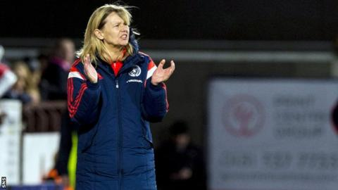 Anna Signeul has recently signed a new contract as Scotland boss.