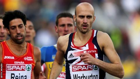Gareth Warburton has competed for Great Britain at major events