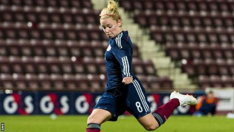 Kim Little equalised for Scotland after 80 minutes.