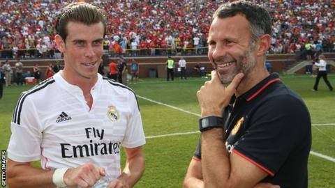 Gareth Bale and Ryan Giggs