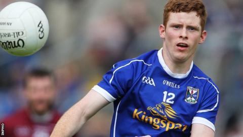 Niall McDermott scored six points for Cavan against Kildare