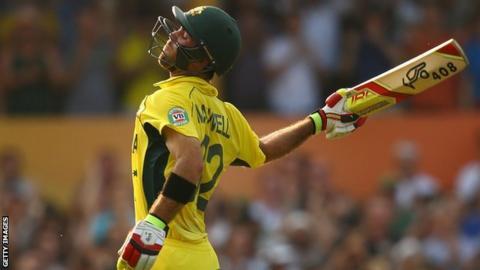 Australia batsman Glenn Maxwell