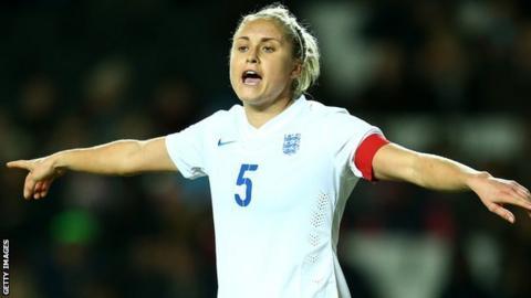 England captain Stephanie Houghton
