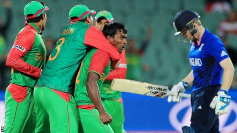 Cricket World Cup 2015 England Knocked Out By Bangladesh