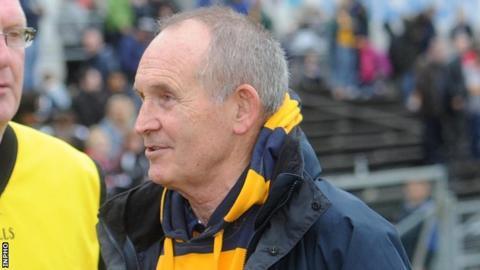 Former Antrim manager Jim Nelson