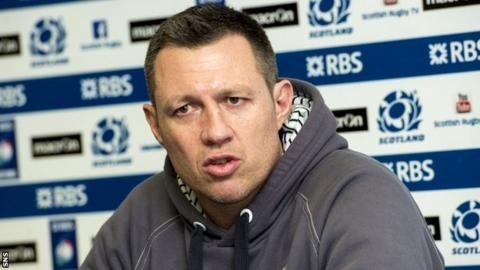 Matt Taylor questioned Scotland's attitude in the 22-19 defeat to Italy.