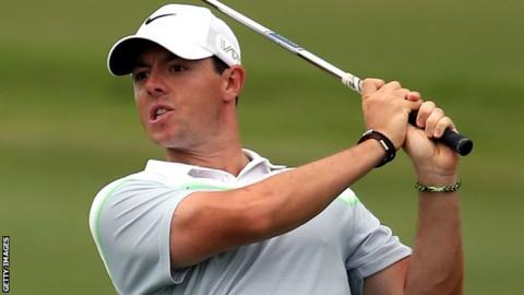 World number one Rory McIlroy
