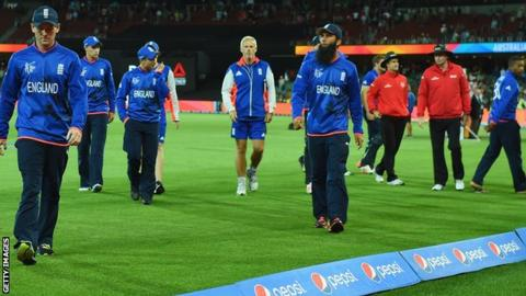 England's World Cup hopes ended with defeat to Bangladesh