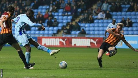 Coventry City v Bradford City