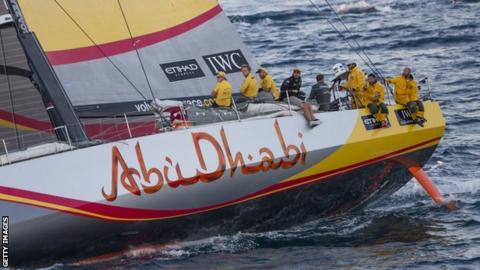Abu Dhabi Ocean Racing team