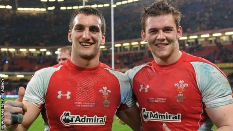 Sam Warburton and Dan Lydiate