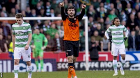Nadir Ciftci scored last weekend for Dundee United against Celtic but will be missing on Sunday