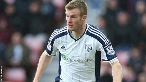 West Brom's Chris Brunt