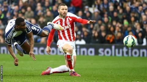 Brown Ideye puts Stoke ahead